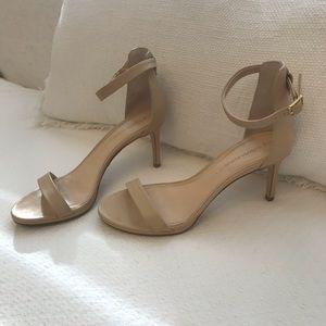 Banana republic ankle strap heels size 6.5